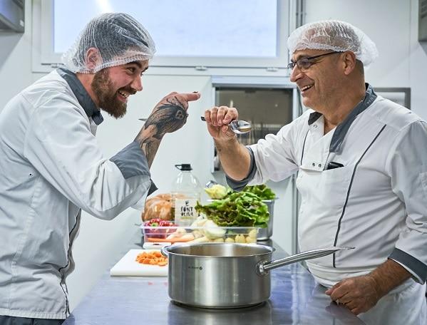chef et second de cuisine EHPAD